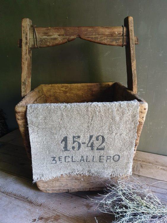 Shabby doek Cijfers 1542