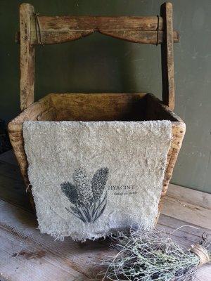Shabby doek Hyacint