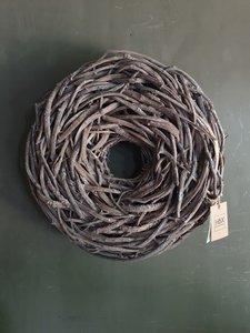 Wilgentakken krans grey - wash, Crazyvine krans (doorsnee ca 48cm)