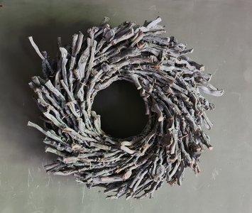 Botay krans grey-wash (doorsnee ca 40cm)